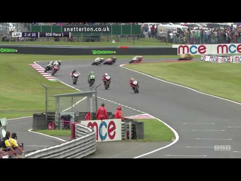 MCE British Superbike Championships 2017- LED perimeter advertising