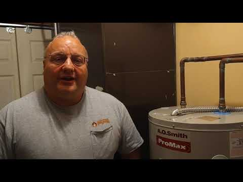 A.O. Smith Water Heater Installation Maineville, Ohio