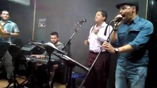 Richi O En ensayo Con La Orquesta de Don Alirio Rojas