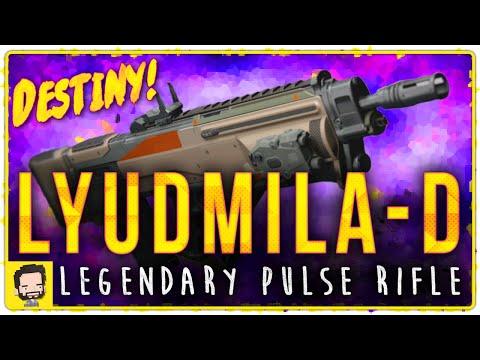 Lyudmila-D Legendary Pulse Rifle | Gameplay Review | Destiny (The Taken King)