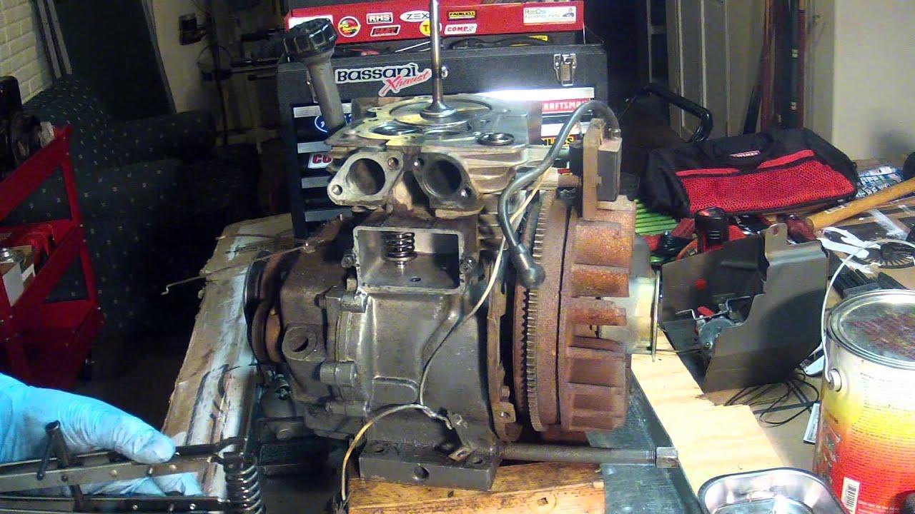 Tecumseh Hm80 Engine Part 4 - Valve Installation