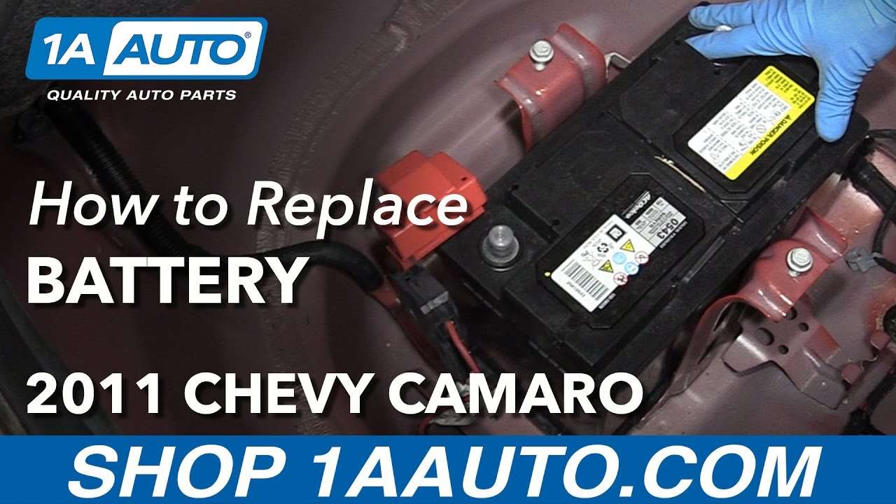 hight resolution of how to change battery 10 15 chevy camaro