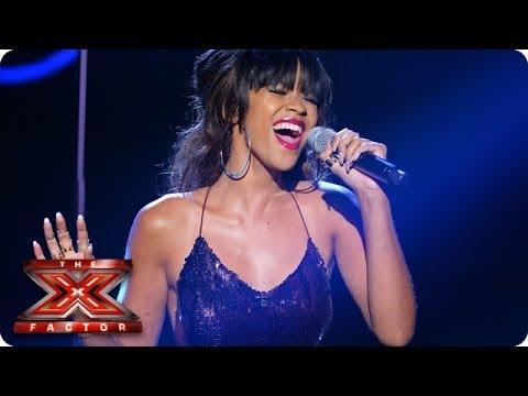 Tamera Foster sings Beneath You're Beautiful by Emeli Sande - Live Week 2 - The X Factor 2013