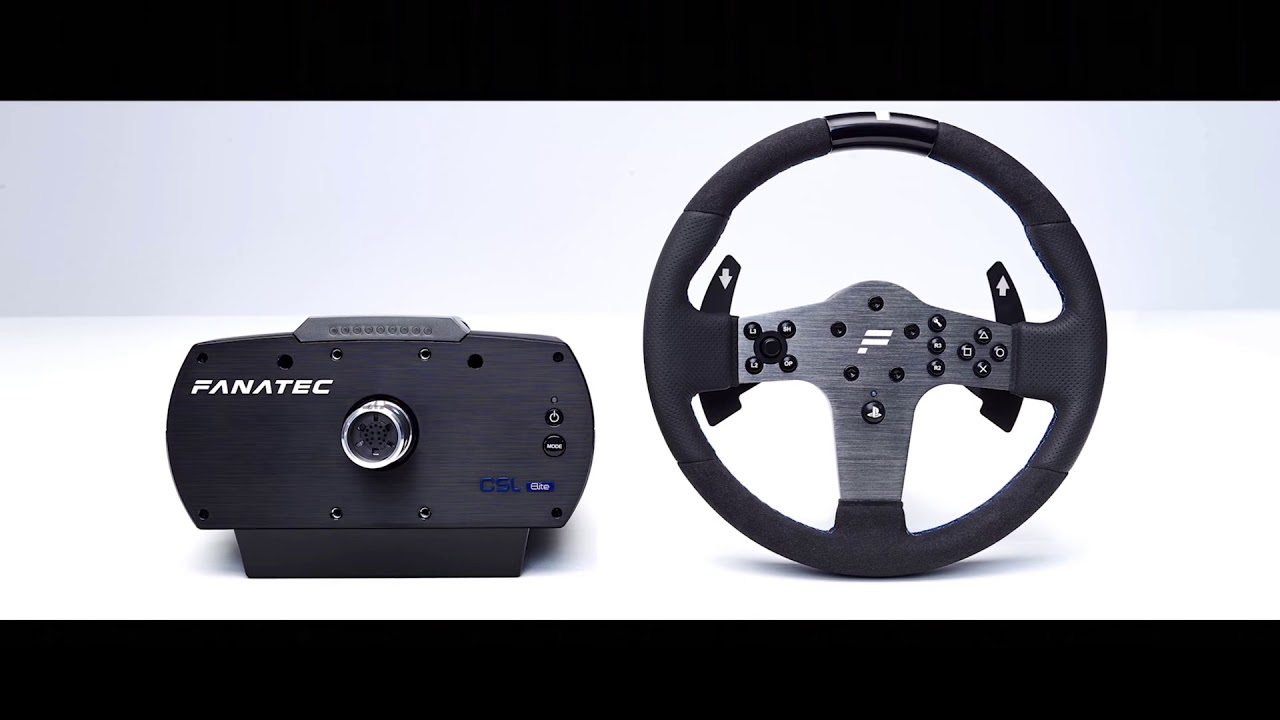 fanatec csl elite pour ps4 review test vid o fr. Black Bedroom Furniture Sets. Home Design Ideas