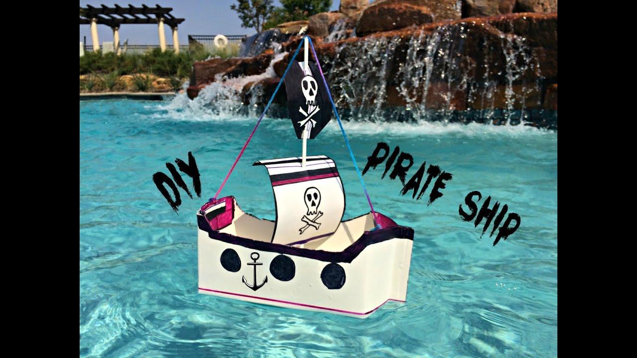 Homemade Pirate Ship Model 20