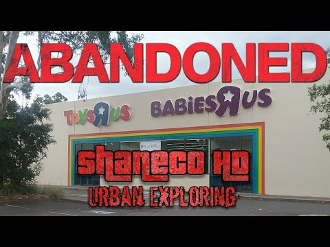 Abandoned, Toys R Us, Penrith Store NSW, Australia