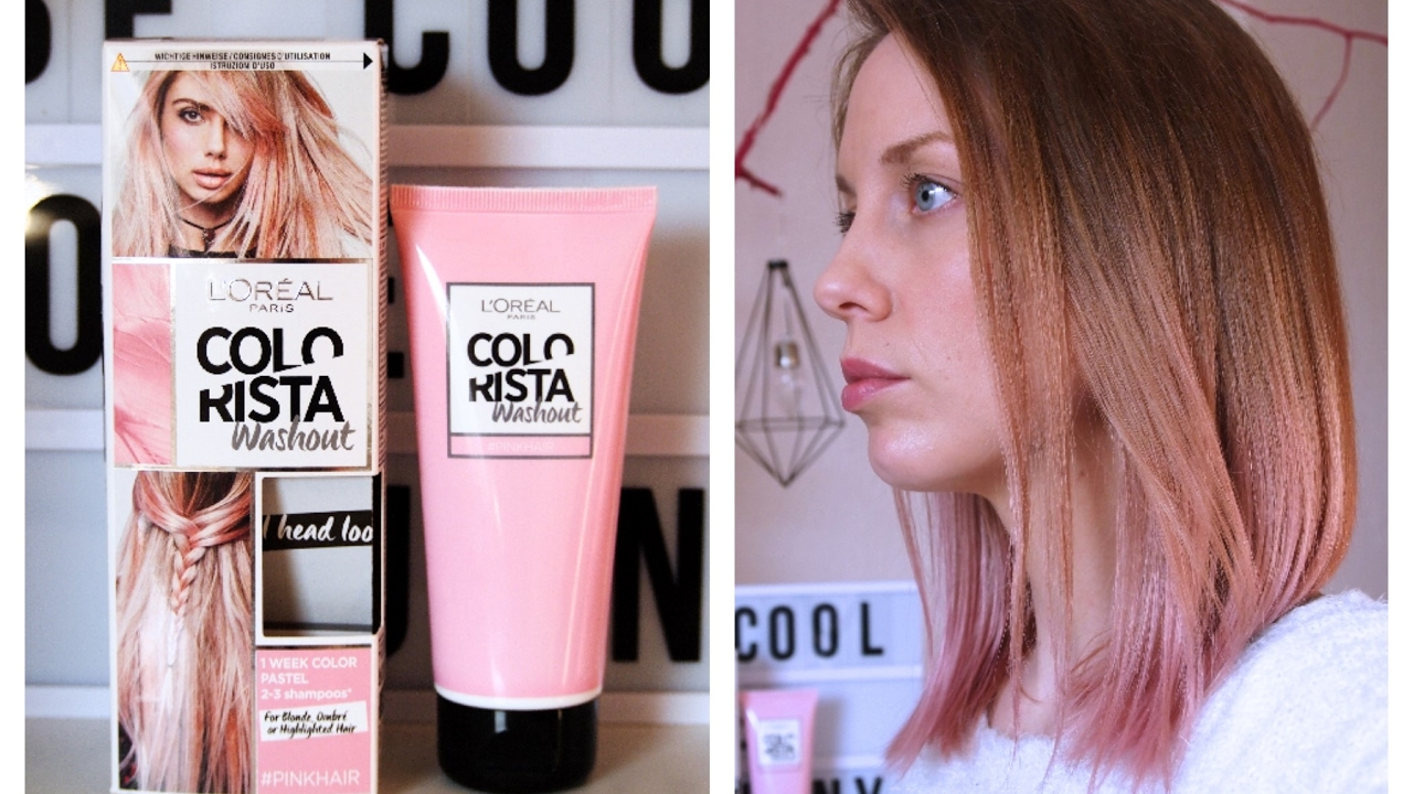 L 210 Real Colorista Pink Ombr 233 Youtube