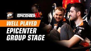 Лучшие моменты группового этапа EPICENTER XL