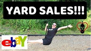 HUGE Epic Yard Sale Haul for eBay Resale