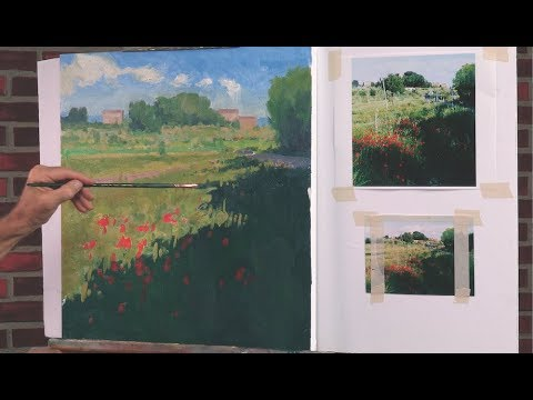 P  Mastering Composition from Photos: Landscape Painting with Ian Roberts