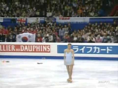 2007 Figure skating Worlds FS Ladies Full (ESPN)