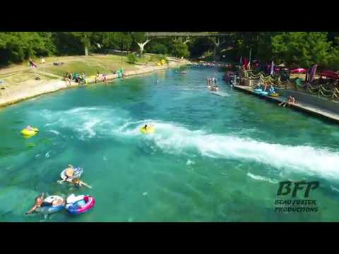 Shooting The Chute Comal River New Braunfels Texas