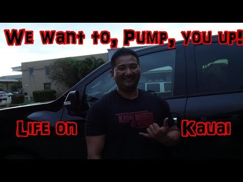 How We Live Life In Kauai, Hawaii | Kauai Muscle And Fitness | Where To Eat Delicious Japanese Food