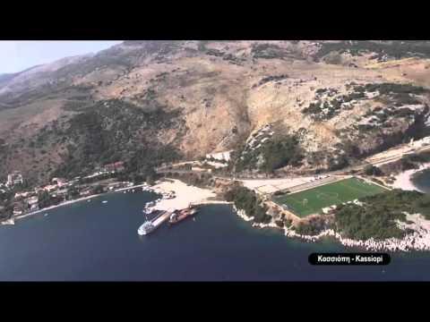 Corfu coast line from Corfubenitses.com