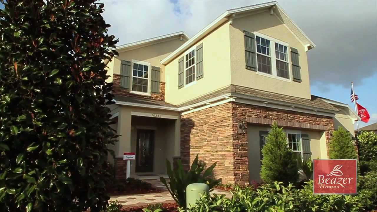 Beazer Homes Captiva Model Virtual Tour YouTube