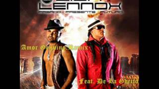 Zion Y Lennox feat. De la Ghetto - Amor Genuino REMIX OFFICIAL 2009 + LYRICS