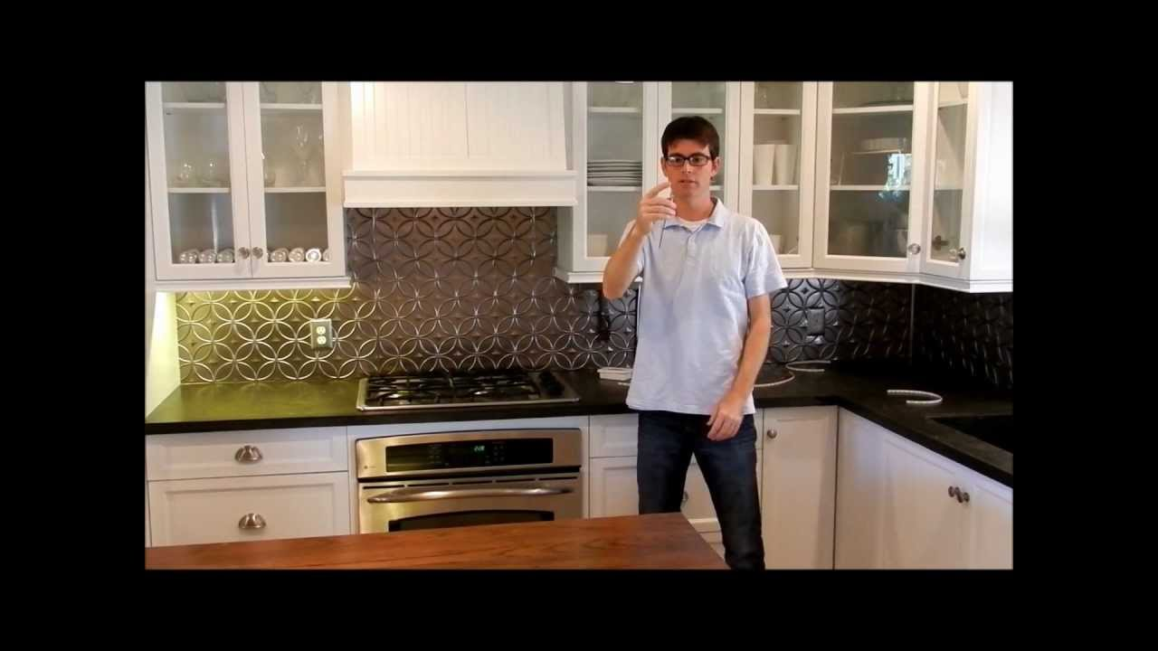 led tape kitchen faucet how to install under cabinet over counter strip lighting youtube