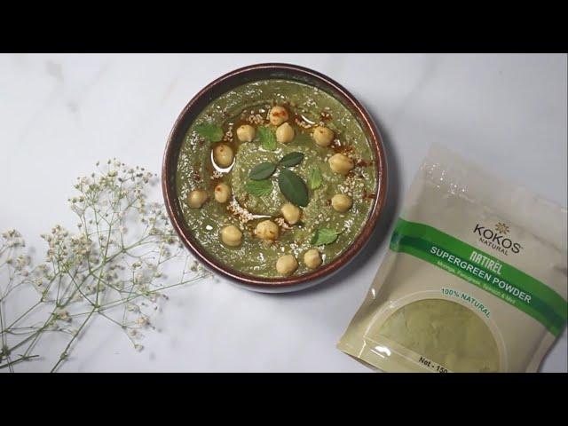 Kokos Natural Supergreen Hummus