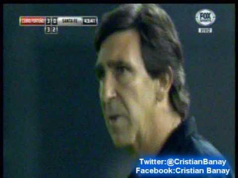 Cerro Porteño 4 Santa Fe 1 (relato Bruno Pont)    Copa Sudamericana 2016