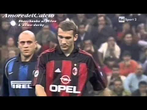 Serie A 2001-2002, day 08 Inter - Milan 2-4 (Ventola, 2 Shevchenko, Contra, F.Inzaghi, Kallon)
