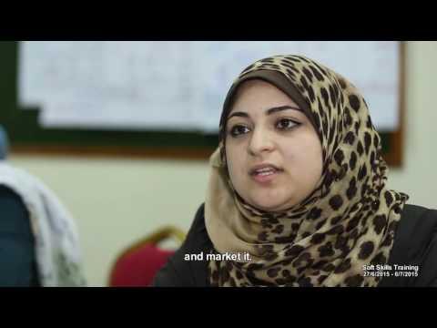 Documentary Film Creative Furniture Design Diversifying Skills For Women Architects in Gaza 2015.
