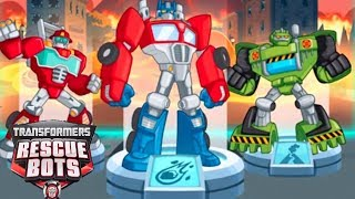 Transformers Rescue Bots: Disaster Dash - Hero Run - All Hero Volcano Rescue Special Mission #1