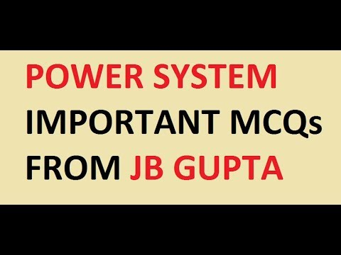Power System !! Important Mcqs Questions !!