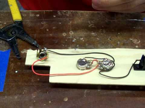 hqdefault cigar box guitar wiring, 2 piezo's v t 3 way youtube  at readyjetset.co