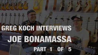 Baixar Joe Bonamassa Interviewed By Greg Koch At Wildwood Guitars (Part 1 of 5)  •  Wildwood Guitars