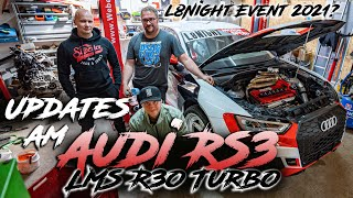 Updates am Audi RS3 LMS R30 Turbo - Pläne L8Night 2021 I #8 I RD48