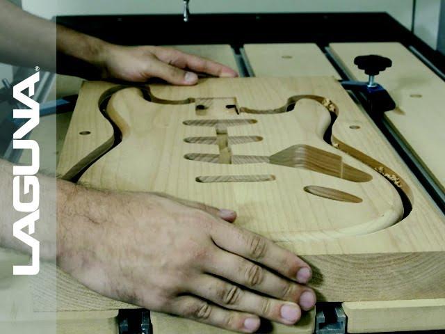 CNC Guitar Custom Build Trailer | Laguna Tools