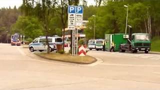 A1/Wildeshausen: LKW-Kontrolle von Polizei, Zoll und BAG (12.05.11)