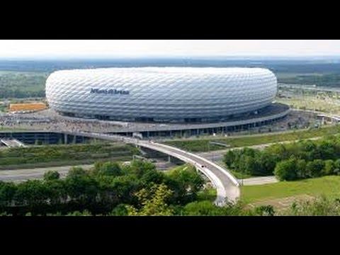 Allianz Arena Europas modernstes Fußballstadion / Doku
