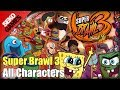 Super Brawl 3: Good vs Evil - All Characters Gameplay Video
