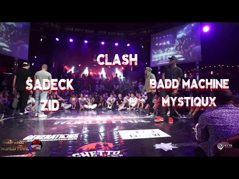 Sadeck & Zid VS Badd machine & Mistiqux |step 1 CLASH | Fusion concept 2016