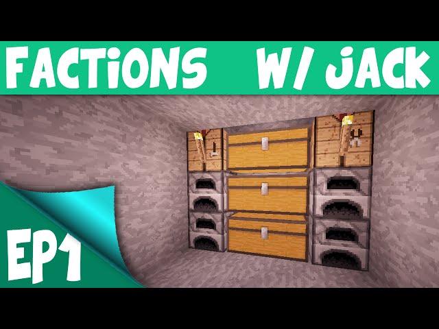 Minecraft Factions EP1 - A FRESH START ( Minecraft Factions Server )