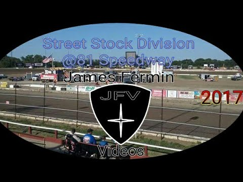 Street Stocks #6, Feature, 81 Speedway, 2017