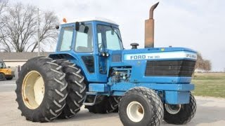 1979 Ford TW-30 with 856 Hours on Indiana Auction April 1, 2017