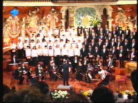 Concert Sant Esteve 1995 - Orfeó Català - El cant de la senyera