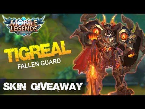 Mobile Legends - New Elite Skin Tigreal Fallen Guard Montage + Giveaway S1