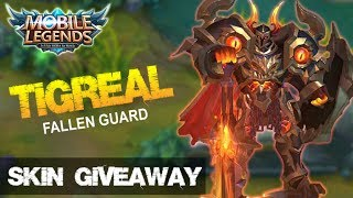 Mobile Legends - New Elite Skin Tigreal Fallen Guard Montage + GIVEAWAY