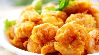 Prawns Pakora -quick And Easy Shrimp Fritters Recipe