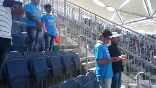 India Vs New Zealand National Anthem Pune Gahunje Stadium