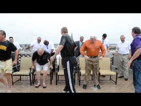Lower Mississippi Port Directors take ALS Ice Bucket Challenge