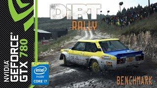 DiRT Rally (DiRT 4) - Benchmark [GTX 780, Intel i7 4790K]