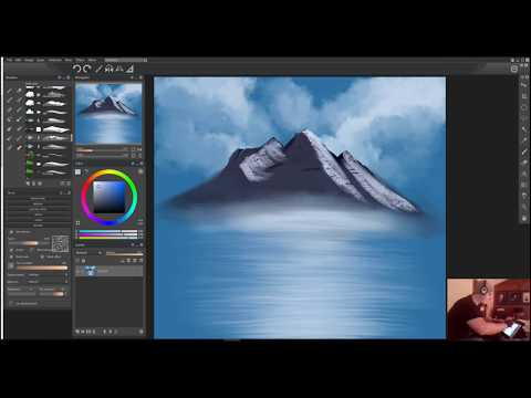 My Bob Ross brushes for Paintstorm