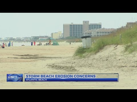 Officials keeping an eye on beach erosion after Maria