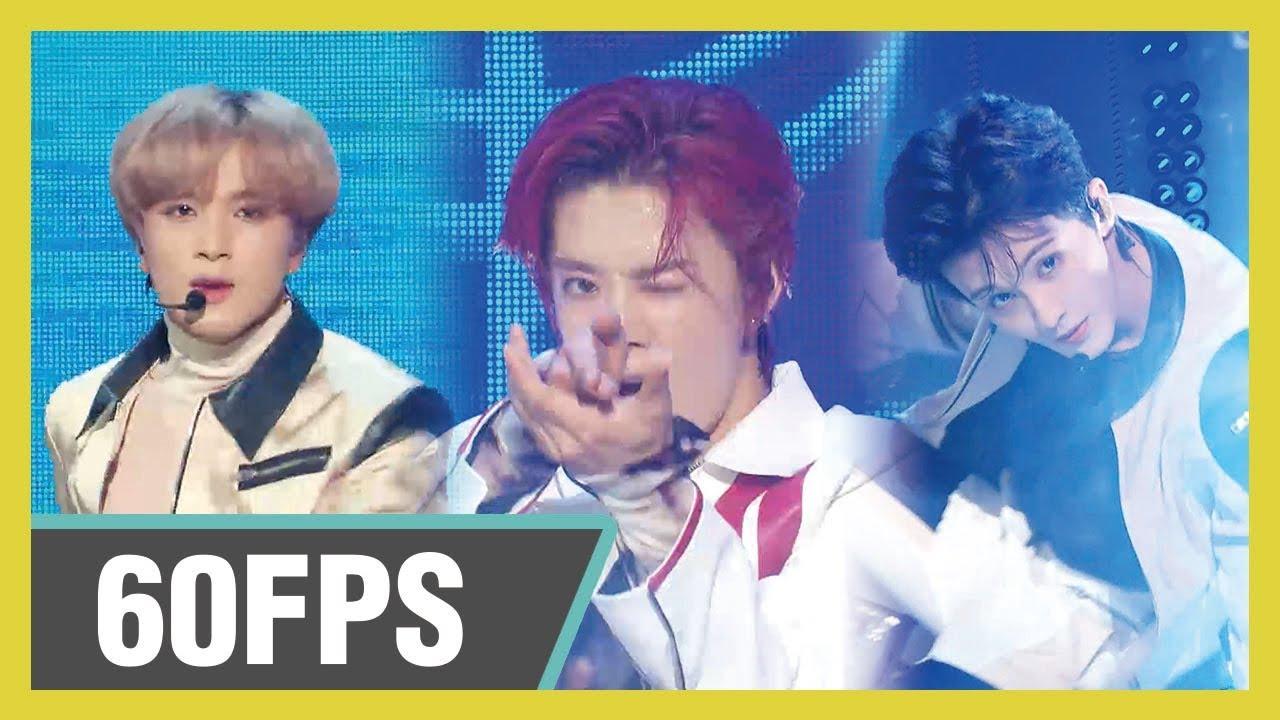 60FPS 1080P | NCT 127 - Superhuman Show! Music Core 20190608