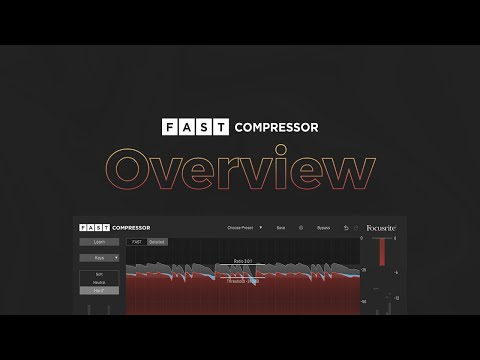 Perfect your mix, effortlessly with FAST Compressor