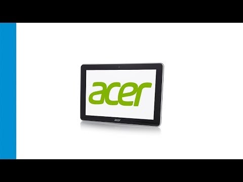 Acer 10.1in 32GB QuadCore Tablet with 2 Cameras